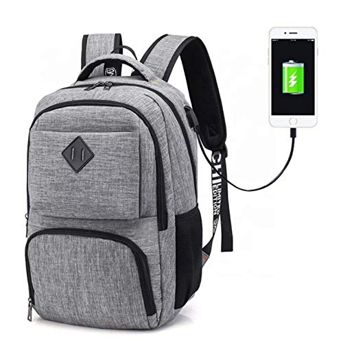 Unisex Backpack, Business Backpack,Travel Backpack, Smart Laptop Backpack, Backpack with USB Charging Port, School College Backpack, Waterproof Rucksack for Men & Women, Daypack for Casual Outing