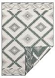 Bougari Outdoor Teppich Flachgewebe Wendeteppich Malibu (120x170 cm, 100% Polypropylen,...