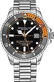 Reloj de buceo profesional suizo automático de acero inoxidable...