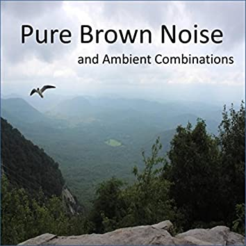 Pure Brown Noise and Ambient Combinations, including Clothes Dryers, Waterfalls, Crickets (Loopable Audio for Insomnia, Meditation, and Restless Children)
