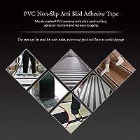 滑り止めテープ5M * 5cm家庭用、オフィスビル用カラフルホテル空港装飾や警告に最適(gray)