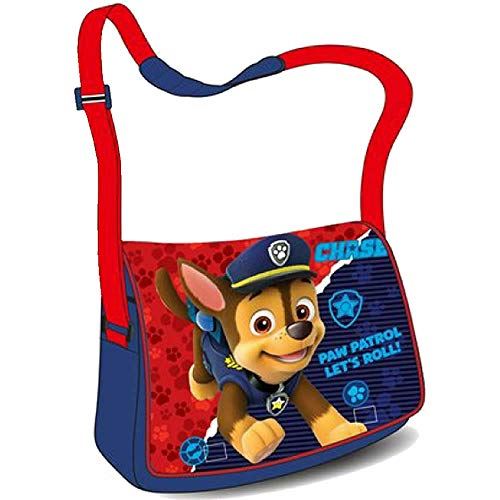 for-collectors-only Paw Patrol Tasche Kindergarten Umhängetasche Schultertasche Chase Let's Roll!