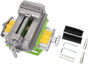 Prensa de taladro deslizante, prensa de taladro deslizante Pinzas planas Abrazadera de banco de trabajo móvil X-Y de 2 vías Apto para carpintería y metalurgia