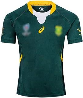 世界チャンピオンラグビージャージラグビーウェア2019日本ワールドカップ南アフリカチームラグビーユニフォームジャージRWC夏通気性Tシャツ
