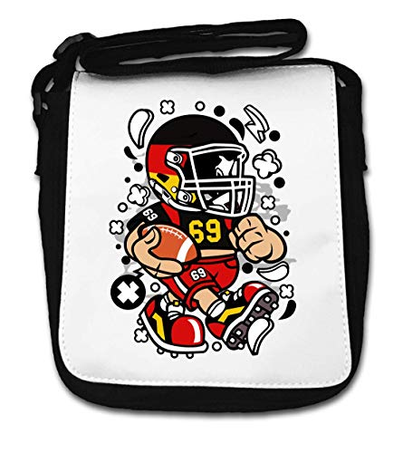 Germany Football Kid German American Football Play Small Shoulder Bag