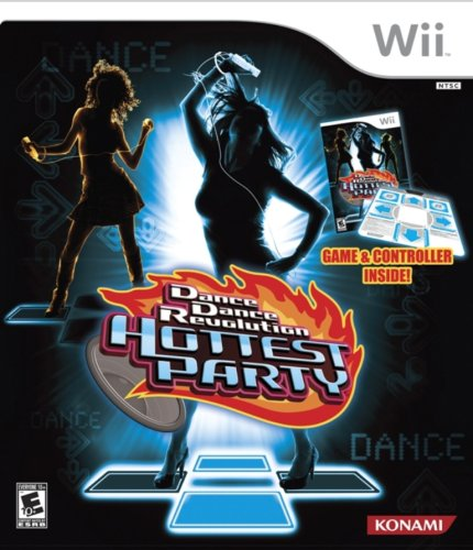 Dance Dance Revolution Hottest Party Bundle - Nintendo Wii