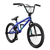 Mongoose Legion L10 Freestyle BMX Bike Line for Beginner-Level to Advanced Riders, Steel Frame, 20-Inch Wheels, Blue