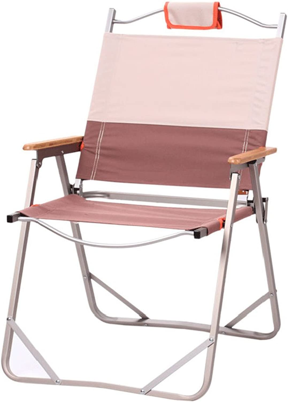 GHM Campingstuhl Outdoor Klappstuhl Portable Ultralight Camping Aluminium Stuhl Strand Freizeit Angeln Sitz