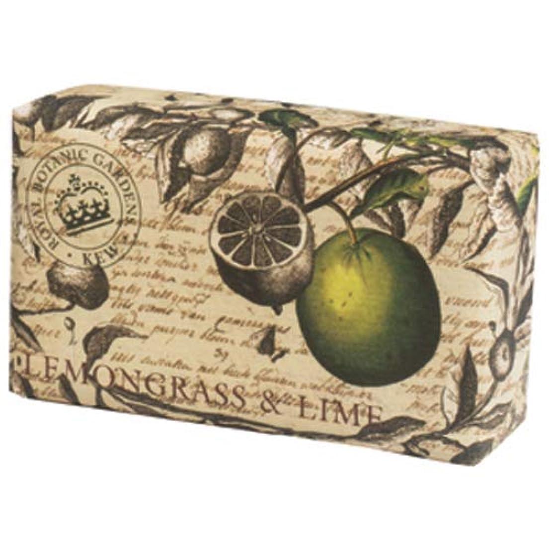 防止磁石濃度English Soap Company イングリッシュソープカンパニー KEW GARDEN キュー?ガーデン Luxury Scrub Soaps スクラブソープ Lemongrass & Lime レモングラス&ライム
