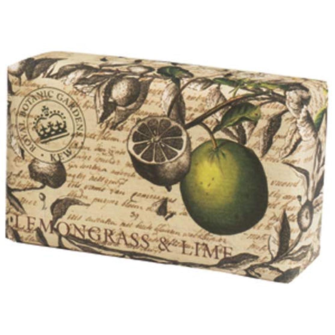 尽きる帝国現金English Soap Company イングリッシュソープカンパニー KEW GARDEN キュー?ガーデン Luxury Scrub Soaps スクラブソープ Lemongrass & Lime レモングラス&ライム