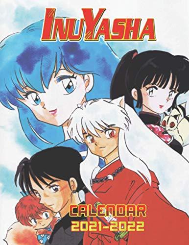 Inuyasha: 2021.2022 Anime/Manga Calendar with Big Size - High Quality Images