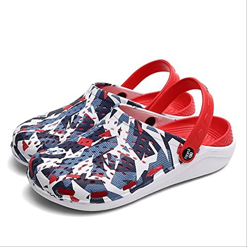 SOTUISA Unisex Sandals Outdoor Beach Shoes Men Hole Slippers Crocse Sandalias Croc Clogs Women Garden Water Shoes Summer Light