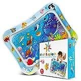Dash & Splash Tummy Time - Esterilla de agua para bebés y niños pequeños, juguetes sensoriales para el desarrollo temprano del bebé, centros de actividades para estimulación del crecimiento