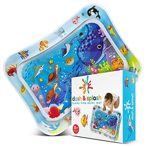 Dash & Splash, tappetino per l'acqua, per neonati e bambini, giocattoli sensoriali per lo sviluppo precoce, per stimolare la crescita