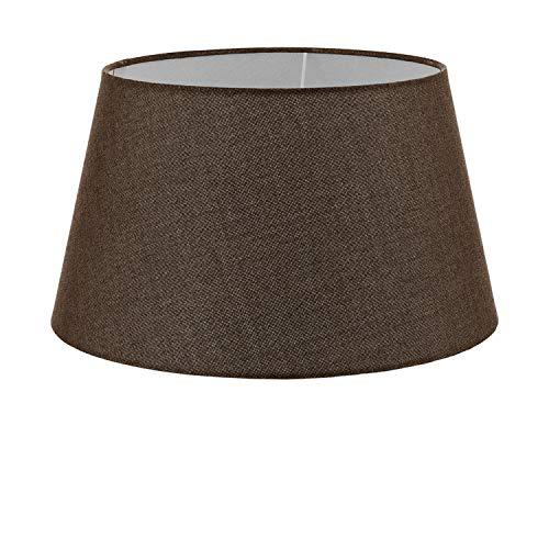 1+1 Vintage, Ø 40 cm, Leinen, E27, braun