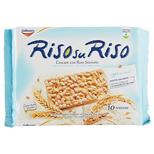 Galbusera Risosuriso Crackers con Riso Soffiato, 380g