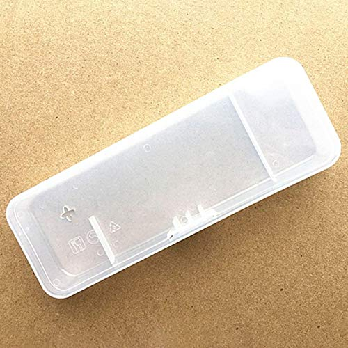 FYstar Tragbare Universal Men Rasierbox Transparent Kunststoff Rasiermesser Reiseetui Halter Handbuch Rasierpatrone Aufbewahrungsbox Lieferung
