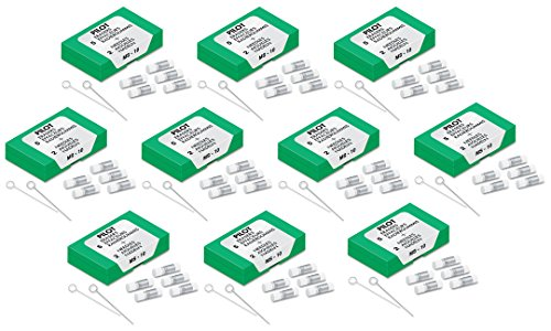 Pilot Mechanical Pencil 5 Eraser Refills 10-PACK (total 50) 70001