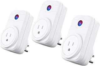 SIPAILING Smart Plug Wifi Socket Work with Amazon Alexa and Google Assistant IFTTT, Only 2.4GHz Timer Function Wifi Outlet Remote Control, No Hub Required