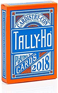 Tally Ho Cardistry-Con 2018 Edition Playing Cards Rare Cardistry Con Deck
