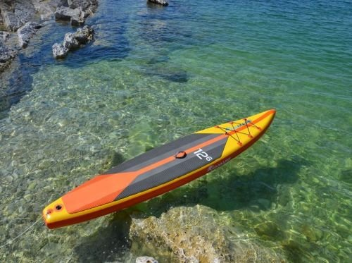 VIAMARE SUP Race Board 380 Farbe gelb-orange