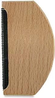 Julyfun Hair Ball Trimmer - Máquina de Afeitar de Madera, máquina de Afeitar Manual, portátil, Peine de Lana para el Cuidado del suéter, Herramienta de Ropa de Cachemir, eliminación racimos de Ropa