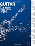 Guitar Tablature Notebook: Manuscript Book | 7 Blank Chord Diagrams Six 6-Line Staves (120 Pages), Blank Guitar Tab Sheet Music, Guitar Sheet Music Blank Music Gift