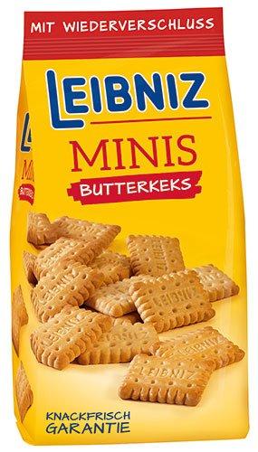 12x Leibniz Bahlsen - Minis Butterkeks - 150g