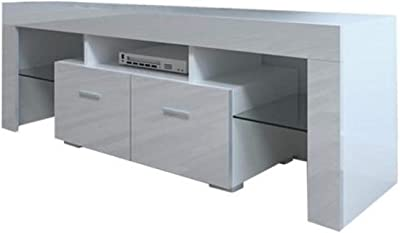 Home Decoration TV Cabinet Standard Vertical Modern TV Cabinet Modern Living Room Furniture TV Cabinet Annacboy (Color : 1)