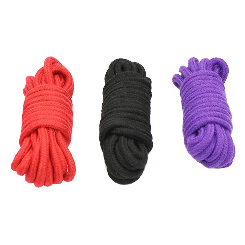 Cuerda de algodón suave 10 m 3 unidades, ZZM multiusos cuerda ...