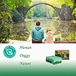 Green Maker Biodegradable 30% Thicker Dog Poop Bags 360 Dog Waste Bags Extra Thick Strong Made from Corn Starch Plants Based (Green) 9