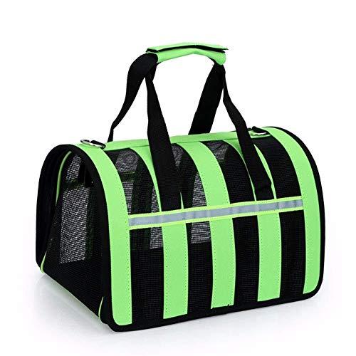 Scra AC Tragbare Außentasche for Haustiere Zusammenklappbare Tasche for Haustiere Tragbare Umhängetasche for Haustiere Aus Atmungsaktivem Mesh S-L (Size : L)