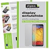 dipos I 2X Schutzfolie matt kompatibel mit Samsung Galaxy Note 3 Neo Folie Bildschirmschutzfolie