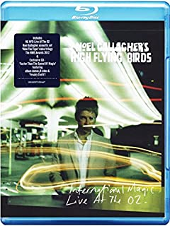 International Magic Live At The O2 [Blu-ray] [2012] [Region Free] by Noel Gallagher's High Flying Birds (B0093F3Q4K)   Amazon price tracker / tracking, Amazon price history charts, Amazon price watches, Amazon price drop alerts