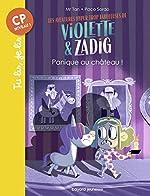 Les aventures hyper trop fabuleuses de Violette et Zadig, Tome 03 - Panique au chateau ! de Mr Tan