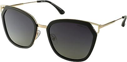 نظارة شمس لونين بعدسات مستقطبة شكل الفراشة رمادي متدرج للنساء من ديسبادا DS1715C1 - ذهبي