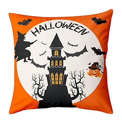 PullPritt Federa in cotone per cuscino da divano, decorazione per la casa, per la zona lombare, per il divano, 45 x 45 cm