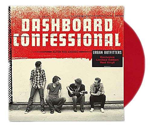 Dashboard Confessional - Alter The Ending Limited Edition Red LP Vinyl [VG+NM- Condition]