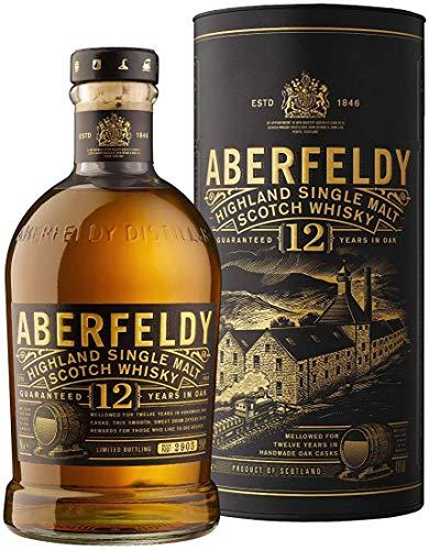 Les5CAVES - Aberfeldy 12 ans dâge Highland Single Malt Scotch Whisky 70cl