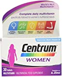 Centrum Multivitamin Tablets for Women, Pack of 30