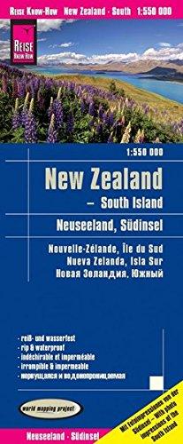 Reise Know-How Landkarte Neuseeland, Südinsel (1:550.000): world mapping project: world mapping project, reiß- und wasserfest
