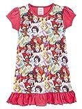 Chemise De Nuit Enfant Fille Disney Imprimé Princesses, Le Roi Lion, Aladdin, Cendrillon, Pat Patrouille | Produit Officiel Film, Série Télé, Vêtement, Pyjama (7/8 Ans, Princesses Disney)