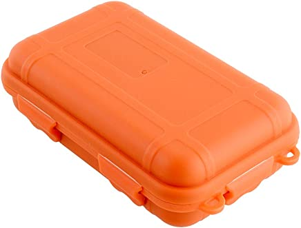 Hanbaili Colors Plastic Waterproof Survival Container Storage Box Case KIT TIN