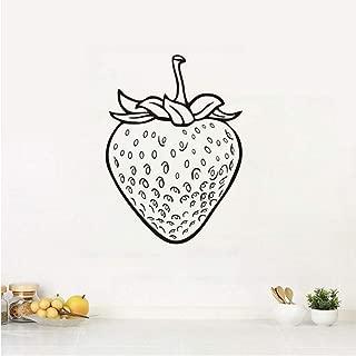 Frutas Fresa Calcomanías De Pared Frutas Alimentos Decoración Del Hogar Cocina Vinilo Adhesivo Arte Etiqueta De La Pared Pared Extraíble Decoración Del Hogar58 * 80Cm