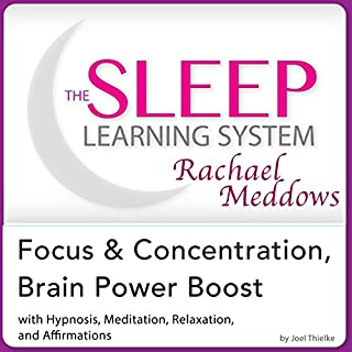 Focus and Concentration, Brain Power Boost: Hypnosis, Meditation, and Subliminal  cover art