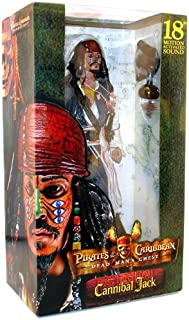 Pirates of the Caribbean Cannibal Jack Sparrow with Sound by NECA