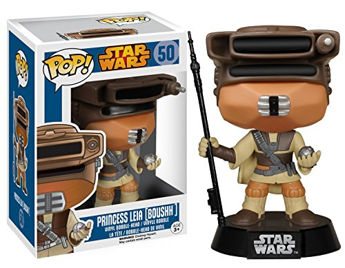 Star Wars Boushh Leia Pop! Vinyl Bobble Head image