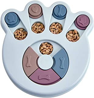 Dolloress Dog Puzzle Toys for Beginner Puppy Treat Dispenser Interactive Dog Toys Engaging and Interactive Treat Dispensing Game for your Dog