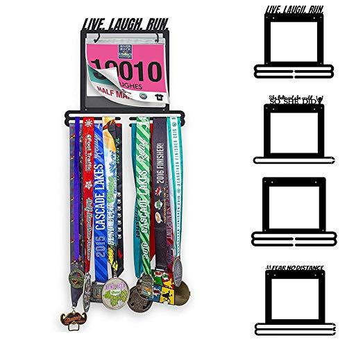 Eillybird medaille rack haak aangepaste medaille rack hoogwaardige medaille display houder medaille kledinghanger voor turner