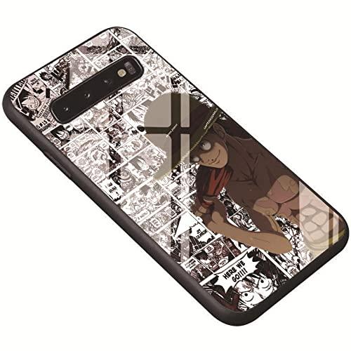 Cover morbida lucida per iPhone 6, 6S, 7, 8 Plus, X Xs Max XR 11, 11 Pro Max Anime One Piece Cappello di Paglia Morbida Custodia Lucida Cartoon Cover-DF646_M51